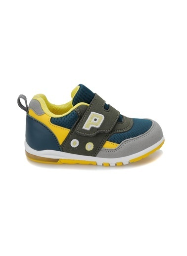 Yellow Kids Spor Ayakkabı Petrol